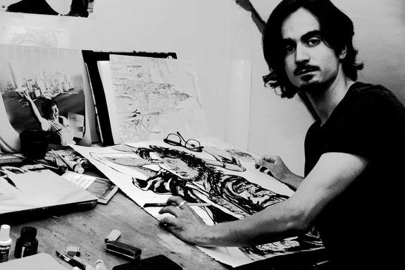 Bastien Loukia artiste