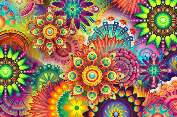Farben gegen Depressionen