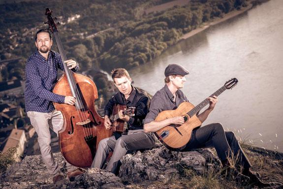 Neue Besetzung des Diknu Schneeberger Trios. (c) Christoph Lechner