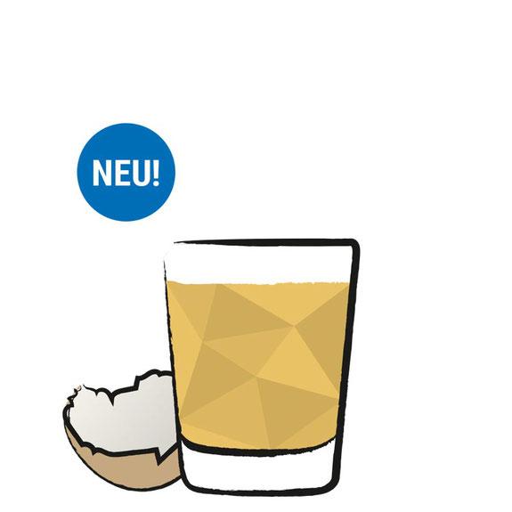 Hafenkorn Rezept - Korn Shot -Eierlikör - Likör - Eier
