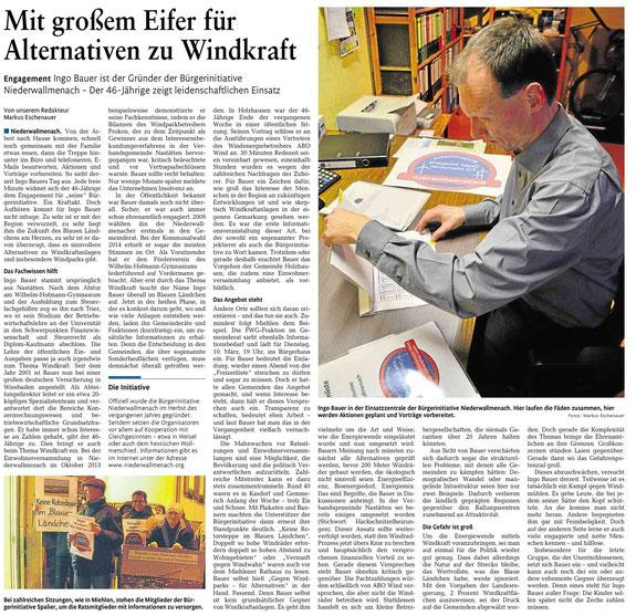 Rhein-Lahn-Zeitung v. 07.03.2015