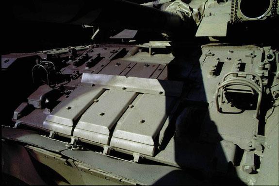 Autre type de brique montée sur ce T-80