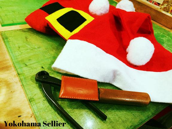 レザークラフト クリスマス
