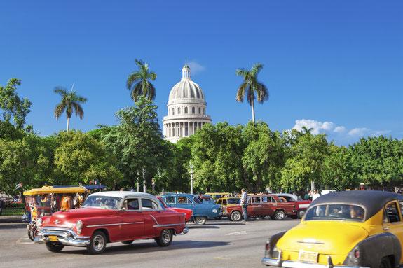 Havanna, Oldtimer, Kuba, Karibik, Karibische Inseln