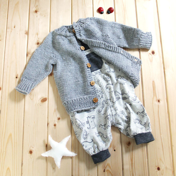 Strickjacke Baby