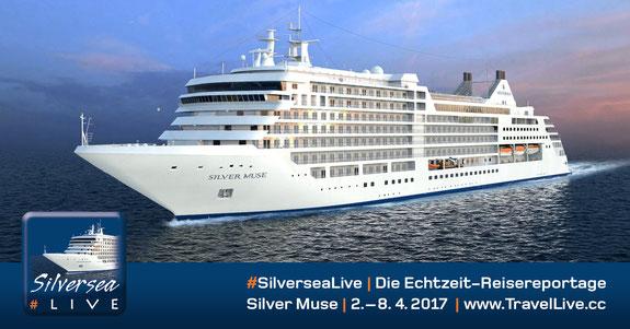 #SilverseaLive - mit der Silver Muse nach Genua - Marseille - Tarragona - Barcelona, 2.4. - 8.4.2017