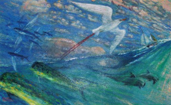 柏村勲 大洋の夢 Isao Kashiwamura