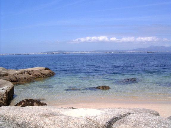 """Playa de """"As Pipas"""" (O Grove)"""