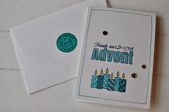 Freude im Advent, Stampin' Up!, Stempel Dich bunt