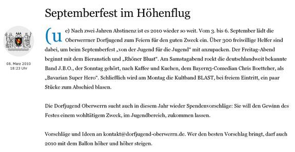 08.03.2010 Schweinfurter Tagblatt
