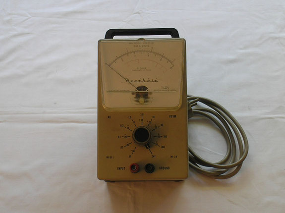 Heathkit Michigan USA  NF Millivolt Meter IM 38  von 1969