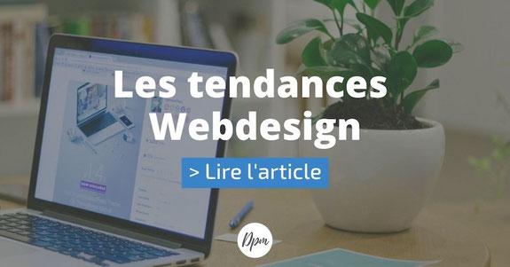 article suivant tendance webdesign