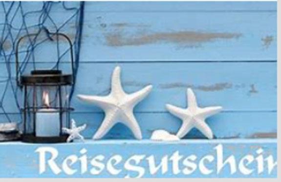 Reisegutschein Reisebüro Zeilinger im Wert von Fr. 1'000.-