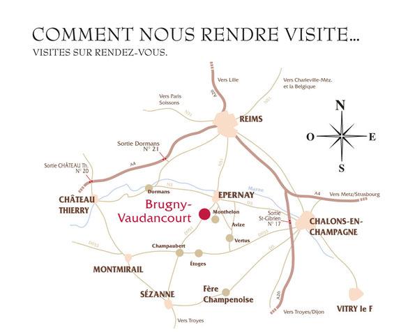 Champagne Benoit HUGOT. BRUGNY-VAUDANCOURT