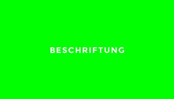 Blickwerbung Crailsheim - Beschriftung, Werbung, Leuchtwerbung, Leuchtreklame