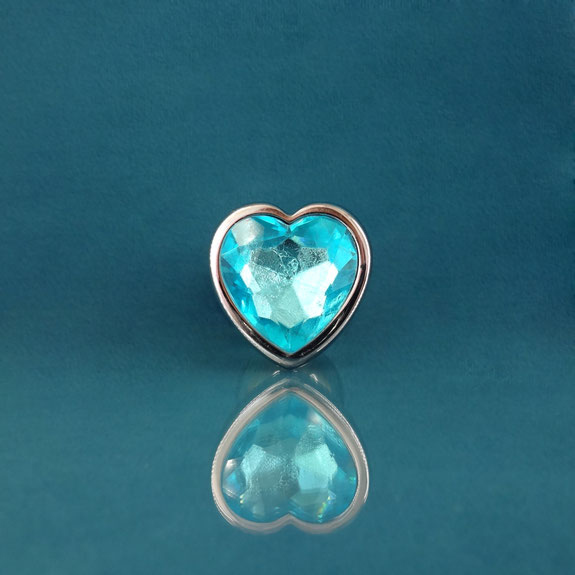 heart butt plug diamond plug blue heart plug blue anal plug buttplug heart blue blauwe buttplug blauwe anaal plug buttplug met hart buttplug met hartje lichtblauw
