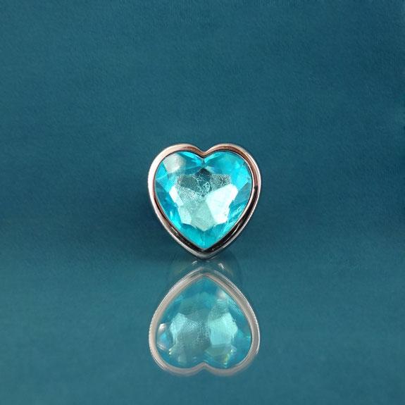 heart butt plug diamond plug blue heart plug blue anal plug buttplug heart blue blauwe buttplug blauwe anaal plug buttplug met hart buttplug met hartje lichtblauw