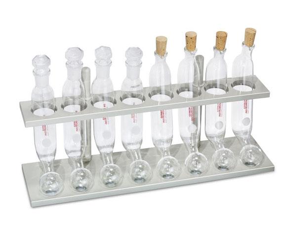 Gradilla para tubos de extracción Mojonnier 04.3004