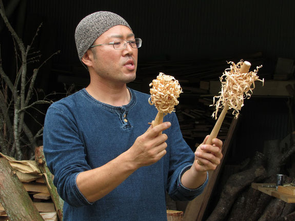 JBSブッシュクラフト認定講師の高橋長良さん