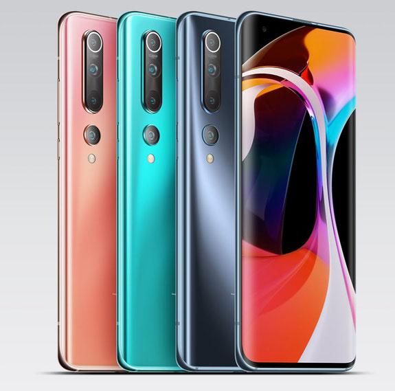 Xiaomi Mi 10 coloris