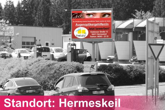 Hermeskeil Videowall Werbung