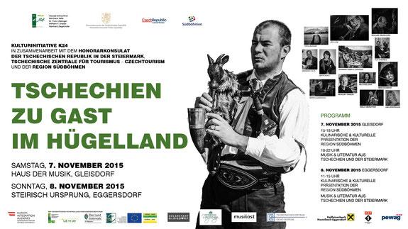 Tschechien zu Gast im Hügelland Nov. 2015