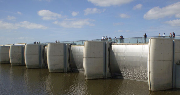 barrage, couesnon, mont st michel, unesco, baie, normandie, bretagne, France, unesco