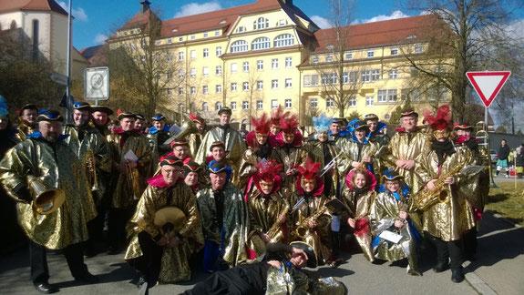 Karneval in Venedig - seit 2013 die neue Fasnetsuniform der Musikkapelle Reute-Gaisbeuren