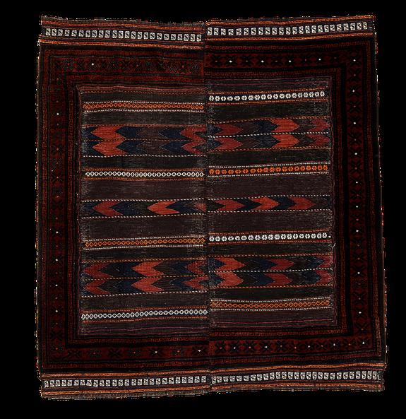 Teppich. Zürich. Vintage Afghan Baluch Rug/Kilim, Sofreh. Handgewebter Teppich/Kelim, Belutsch.