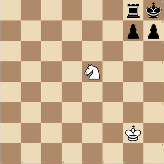 チェス 一手詰 練馬チェス教室 ナイト スマザードメイト 窒息