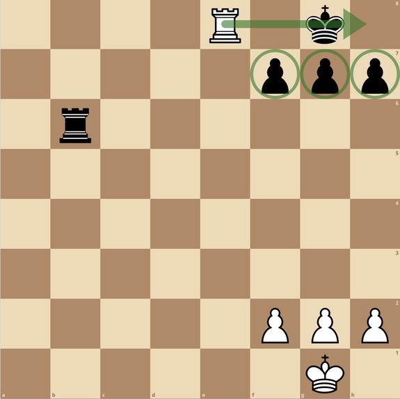 チェス 一手詰 練馬チェス教室 バックランクメイト