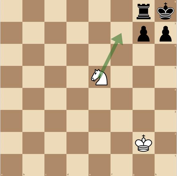 チェス 一手詰 練馬チェス教室 ナイト スマザードメイト
