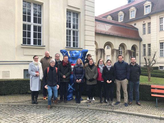 Teilnehmer am 11. Nord-Südkolloquium an der ESCP Berlin