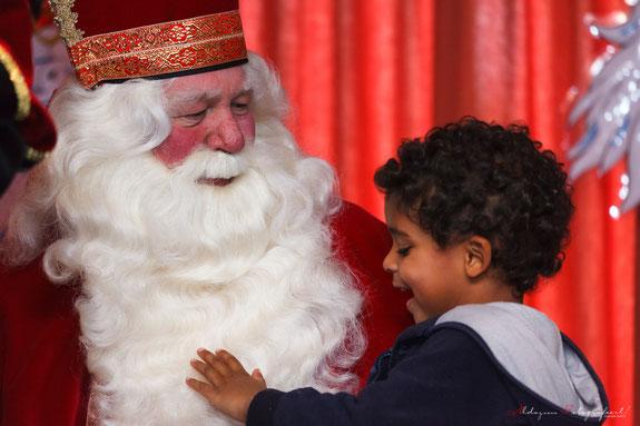 Sinterklaas op bezoek bij Toyota Material Handling Nederland