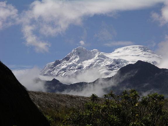 Das Bergsteigen in Ecuador erfordert gute Höhenanpassung
