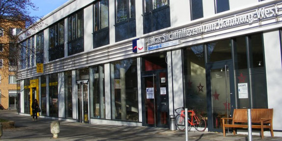Lukas Suchthilfezentrum Hamburg-West Ansicht von der Luruper Hauptstraße