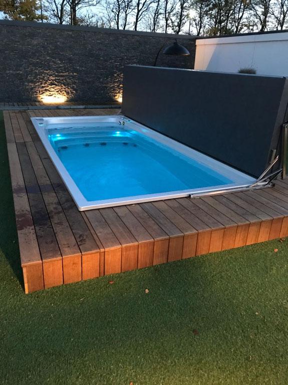 schwimmspa modern