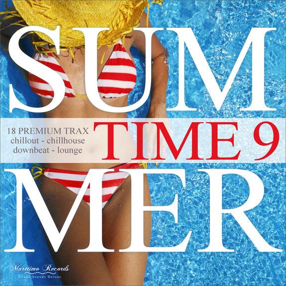 Summer Time Vol.9 CD - DJ Maretimo Records