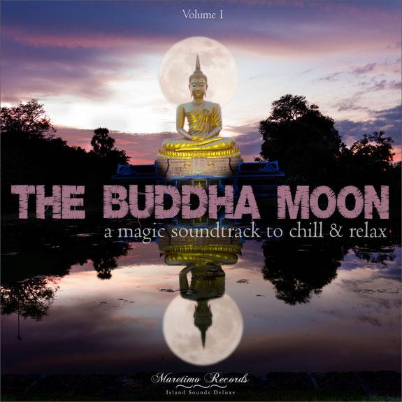 CD The Buddha Moon Vol.1 - DJ Maretimo Records & Radio