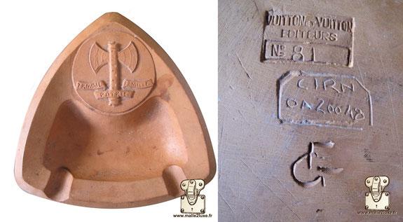 cendriller Louis Vuitton travail famille patrie terre cuite