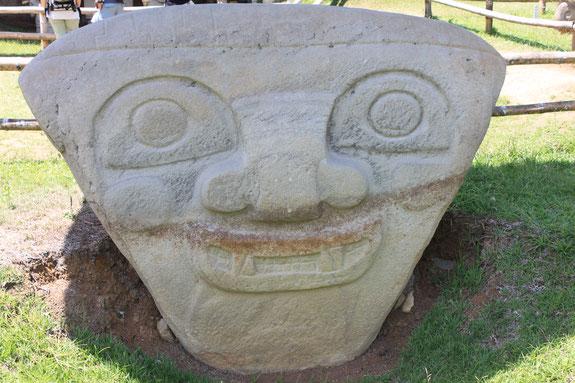 Besichtigung des Archäologischen Parks in San Agustin, Kolumbien