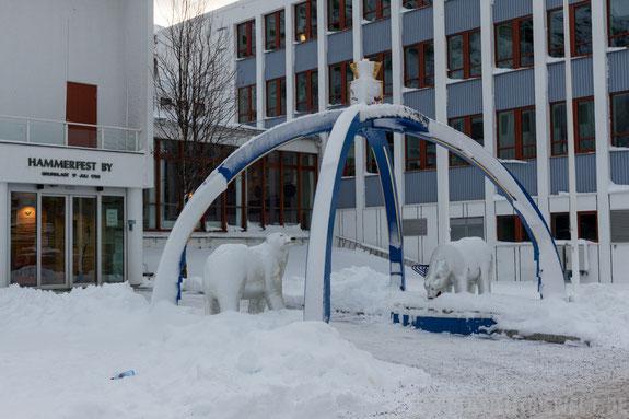 Hammerfest,Eisbärenclub,Hurtigruten,MS,Midnatsol,November,Winter,Tipp