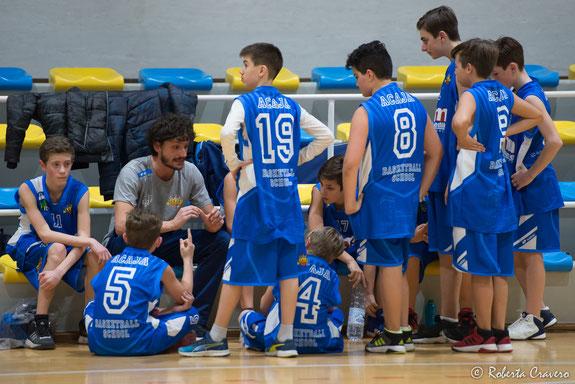 L'Under 14 CSI con coach Mondino - foto di repertorio - Roberta Cravero ph