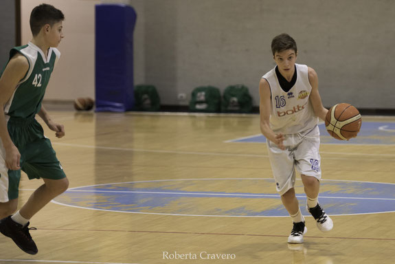 Nicolò Reynaudo in azione - Roberta Cravero ph.