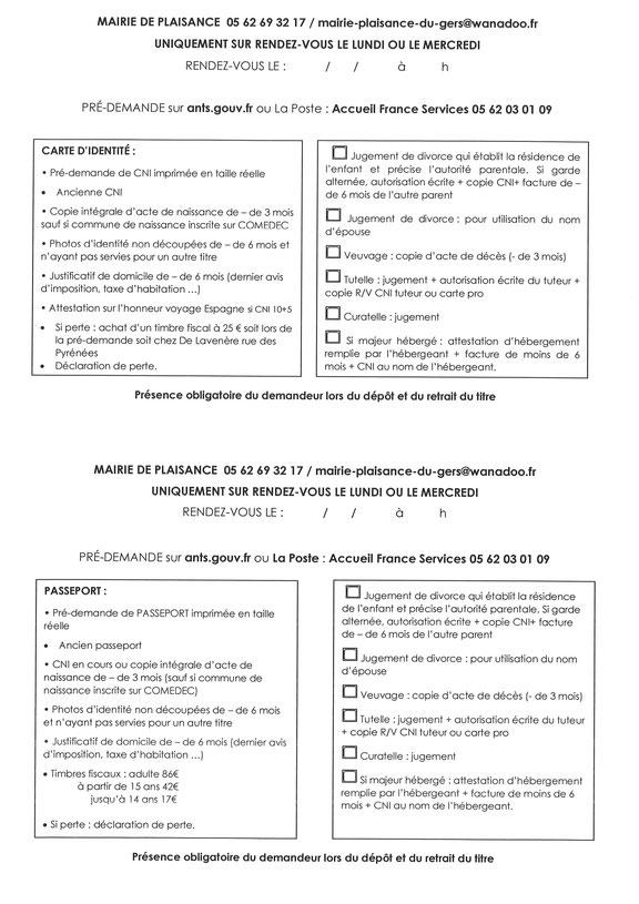 Demande Cartes D Identite Et Passeports Biometriques Mairie De