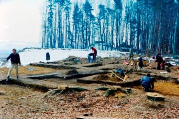 Fotos vom Amt für Archäologie TG