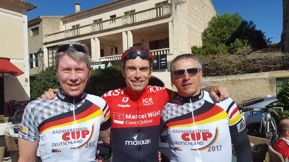 Überraschende Begegnung mit dem Ex-Radsport-Profi Marcel Wüst auf Mallorca