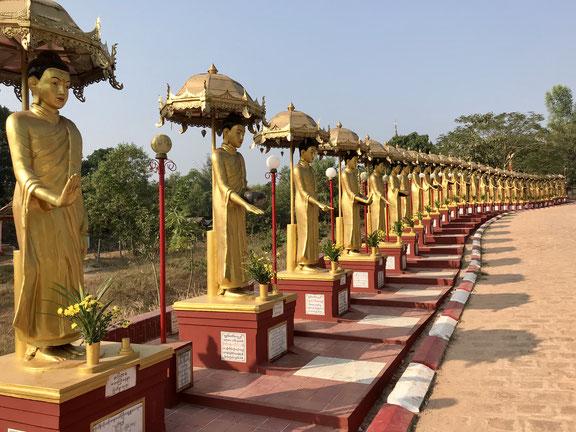 Tempelanlage in Bago