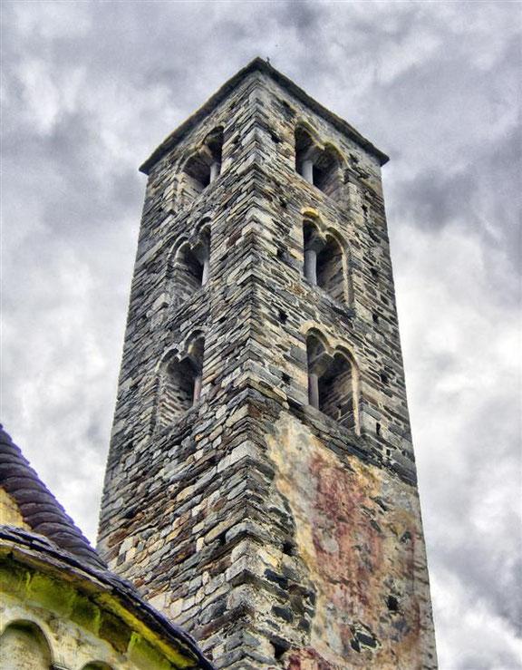 Die etwa 1000 Jahre alte Kirche von Negretino