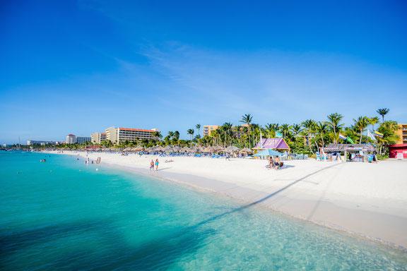 Palm Beach Aruba, Karibik, Karibische Inseln